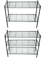 Greenhouse Benches, Shelves, and Tables from ACF Greenhouses