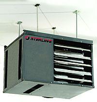 Sterling Rf Gas Garage Heater Information
