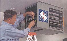 modine hd gas heater in a garage - Natural Gas Garage Heater