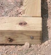 Building a greenhouse foundation inserting lag screws solutioingenieria Choice Image