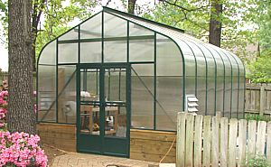 Curved Eave Cross Country Greenhouse