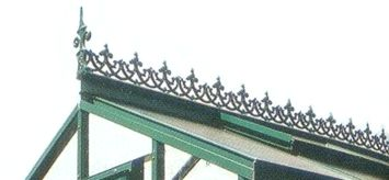 Decorative Roof Ridge Cresting Decorative Ridge Cresting
