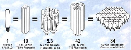ACF Plant Light Comparison Chart