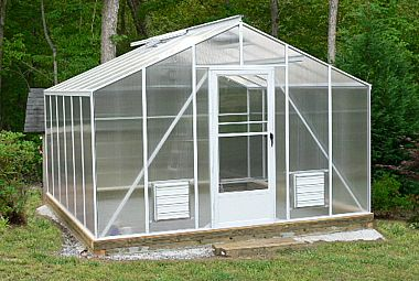 Straight Eave Cross Country Greenhouse