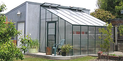 Cross Country Attached Lean To Greenhouses